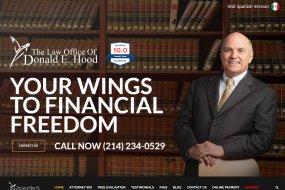 Donald E Hood New Website